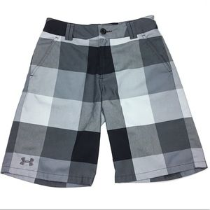 Under Armour Boys Flat Front Loose Chino Shorts Md